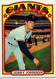 1972 Topps Baseball Cards      035      Jerry Johnson
